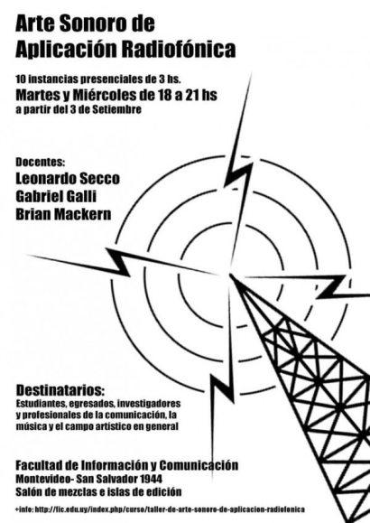 Arte sonoro de aplicación radiofónica