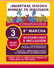 Coordinadora Marcha por Accesibilidad e Inclusión