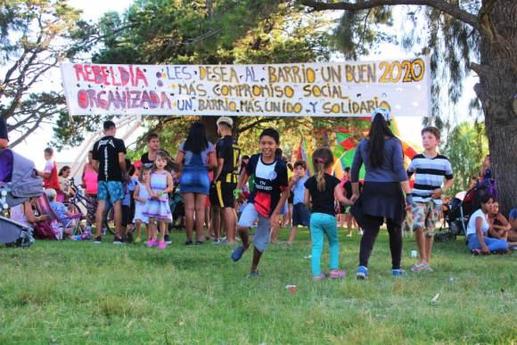 Delta del Tigre vestida de Rebeldía Organizada