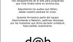 Dab Radio Nº 1 - El Informe Iron Mountain y ...