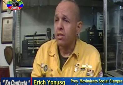 """""""En Contacto"""" entrevista con Erich Yonusg. (video)"""