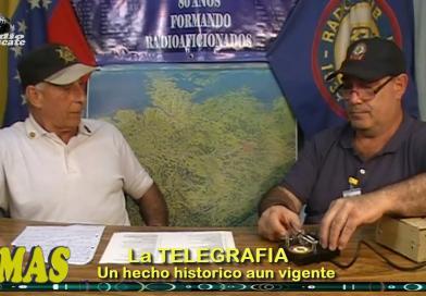 """""""TEMAS"""". La Telegrafía un hecho histórico aun presente."""