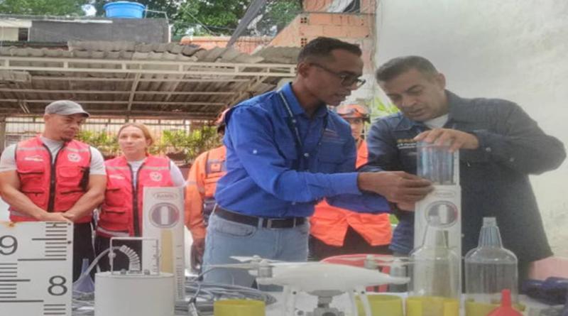 INAMEH. Fomenta la construcción de pluviómetros artesanales y la cultura preventiva.