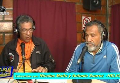 """""""Rescate Comunitario"""".  Prog. 02. Entrevista con Nicolás Maita y Antonio Suarez de Rescate HELICE. (Video)"""