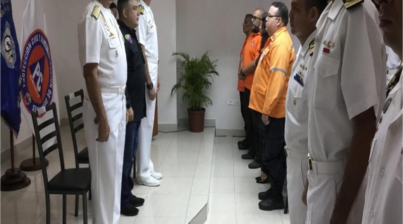 Ingenieros de la Armada Bolivariana se actualizaron para formar parte de la Fuerza de Tarea Humanitaria