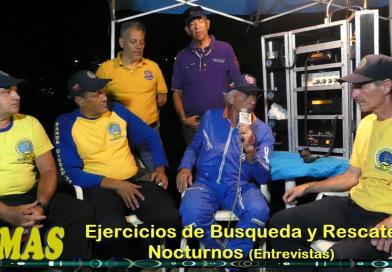 """TEMAS"""" Prog. 09.  Ejercicios de Búsqueda y Rescate Nocturnos. (Entrevistas)"""
