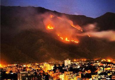 La Protección Civil y los incendios forestales.