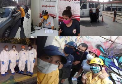 Apoyo de los Grupos Voluntarios en los Altos Mirandinos, ante el COVID-19.