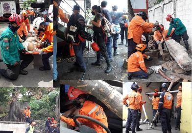 Agrupaciones Voluntarias activas ante temporada de lluvias.