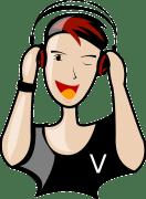 Jeune avec des écouteurs