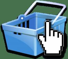 Panier d'achat en ligne