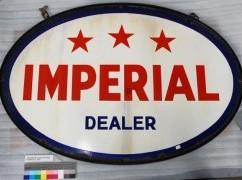 Enseigne de la compagnie Imperial Oil