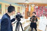 Entrevue filmée à la caméra