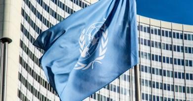 Drapeau de l'Organisation des Nations Unies (ONU)