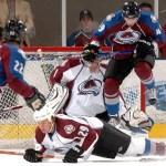 Match préparatoire de hockey sur glace