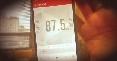 Radio FM sur un smartphone