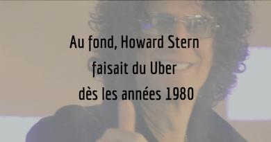 Howard Stern faisait du Uber dès les années 1980