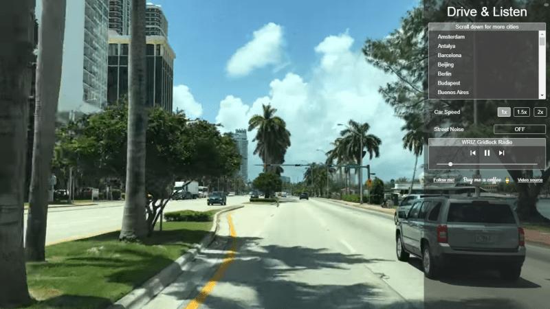 Balade sans les rues de Miami
