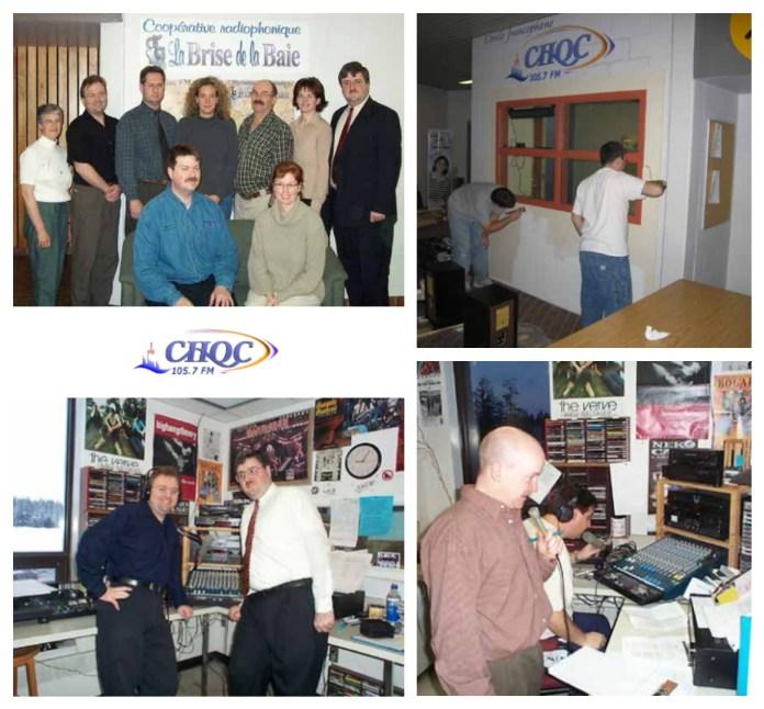 Montage photo CHQC FM