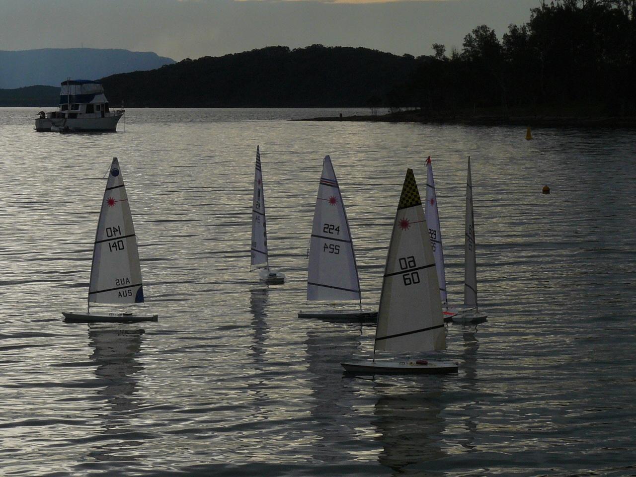 Central Coast Rc Laser Launch Regatta At Rafferty S Resort