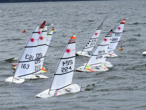 Northlakes Radio Sailing Club Laser series