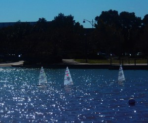 RC Lasers at Mawson Lakes. Photo by Mark Easton
