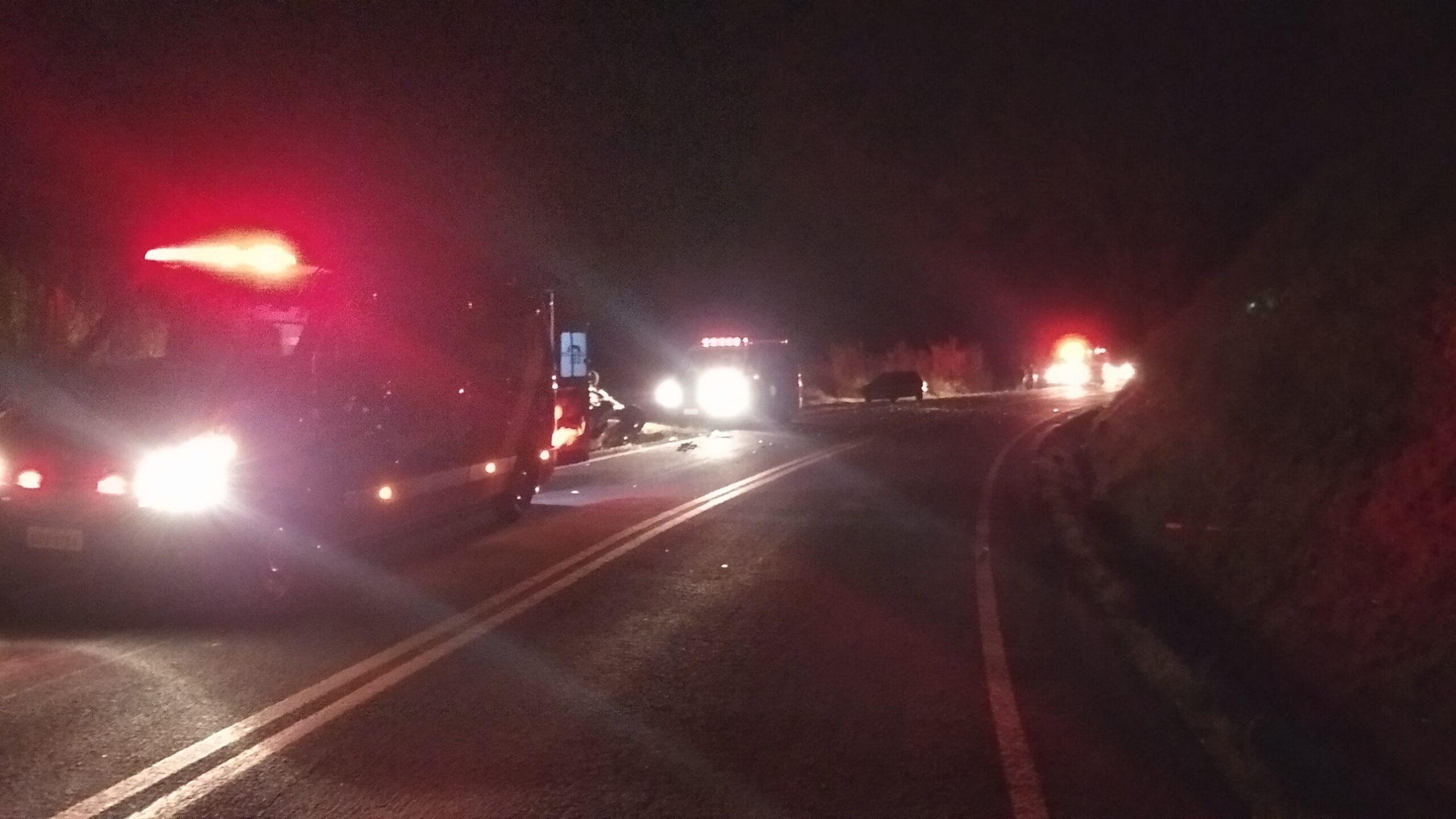 Colisão entre dois veículos na PR-562 deixa quatro pessoas feridas