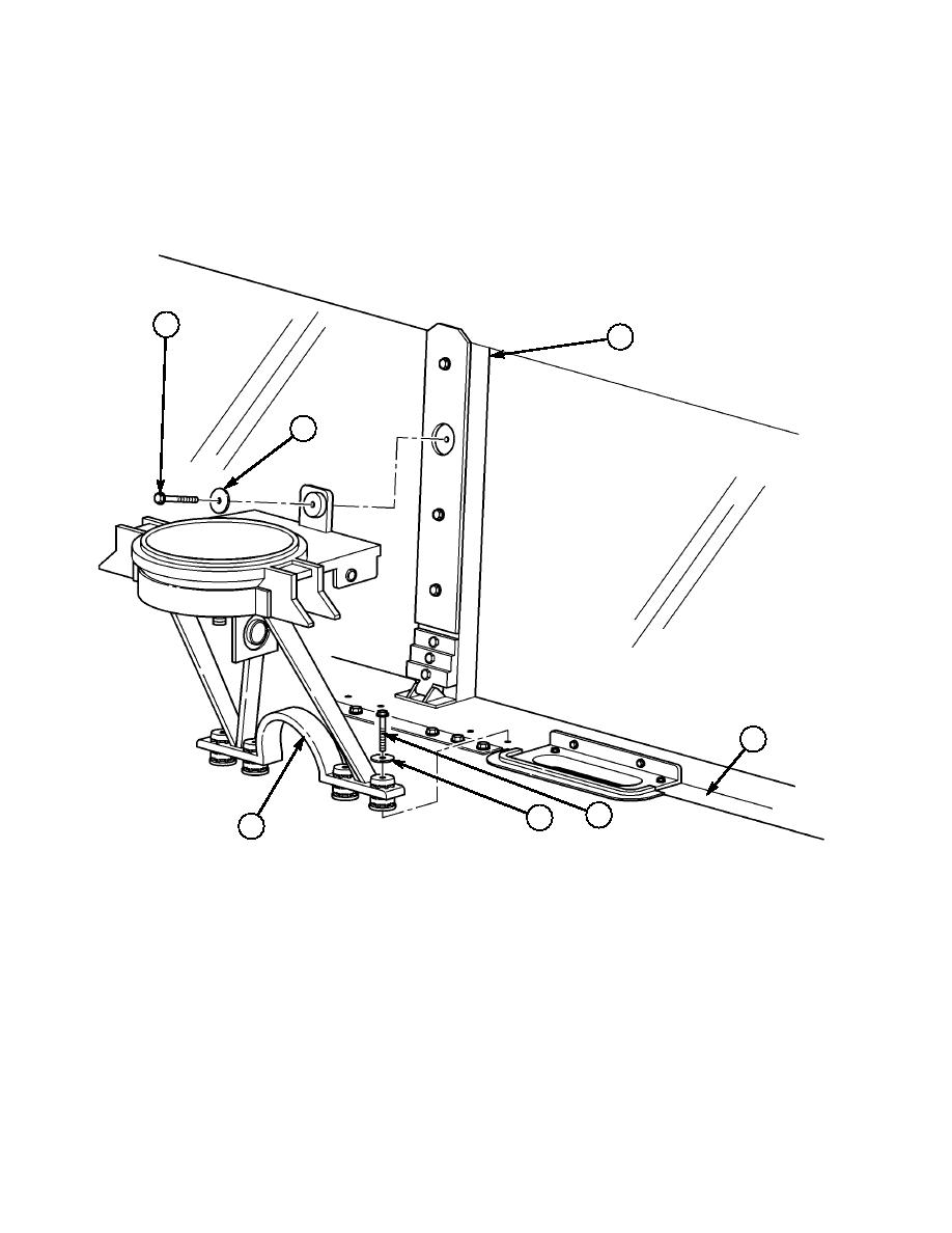Install PTM mount assembly