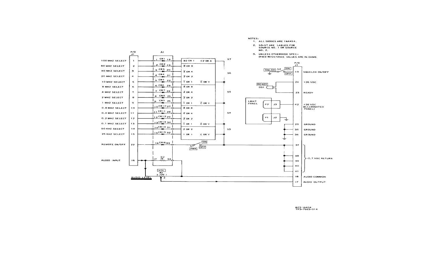 Figure Fo 17 Radio Set Control C Grc 171 Schematic Diagram