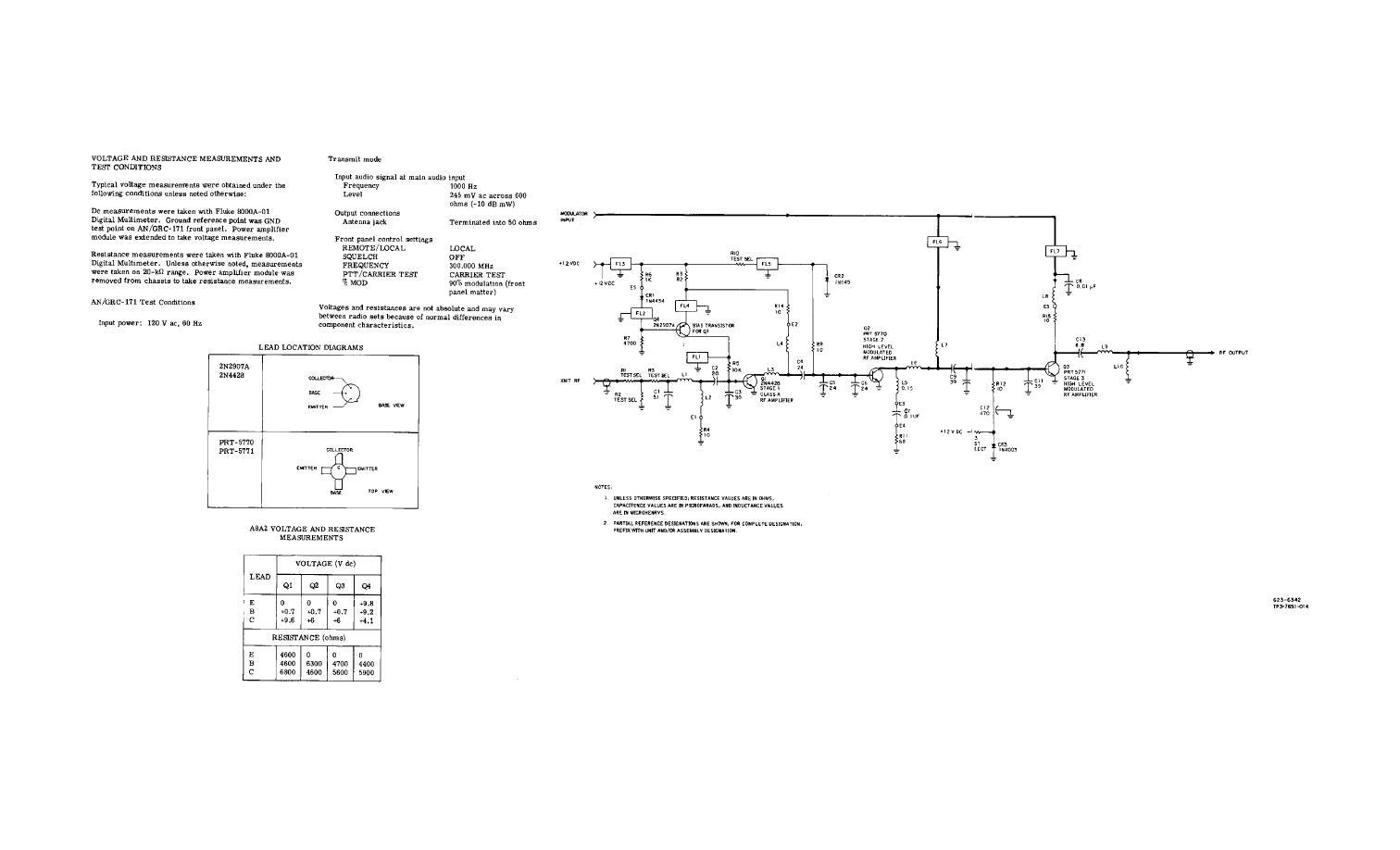 Figure Fo 27 Rf Preamplifier Modulator A8a2 Schematic