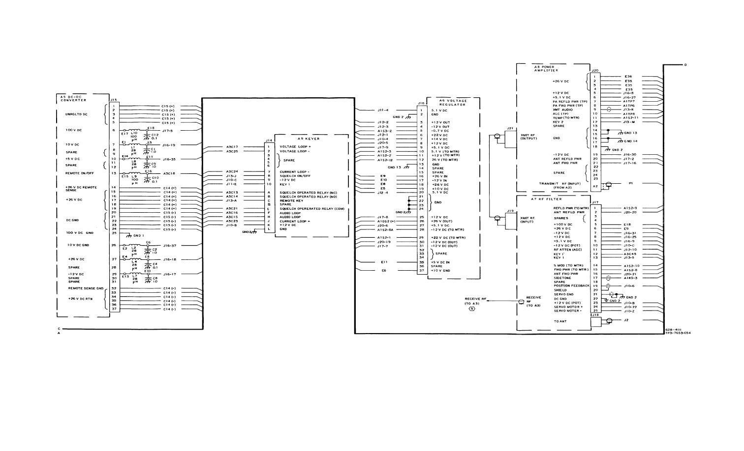 Figure FO-33. Chassis A10, Schematic Diagram (Sheet 4 of 5)