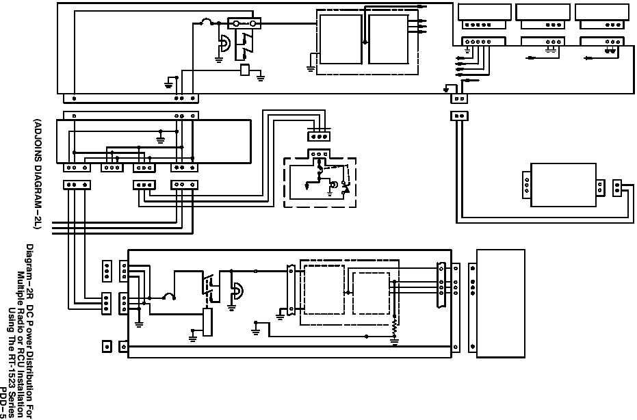Diagram-2R DC Power Distribution For Multiple Radio or RCU