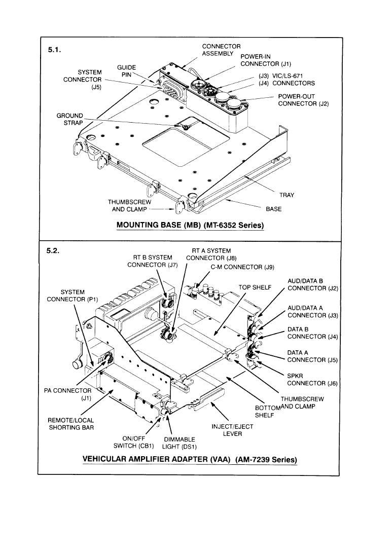 Mounting Base (MB) (MT-6352 Series)