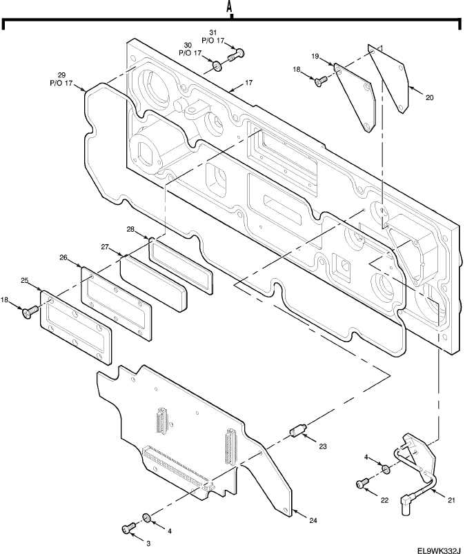 Figure 166B. Receiver-Transmitter Panel Assembly (cont