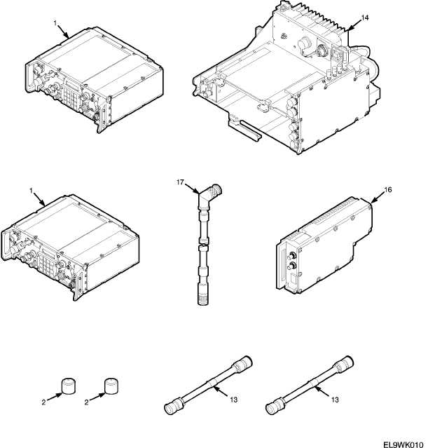 Figure 1. SINCGARS Family of Radios (AN/PRC-119D) (cont