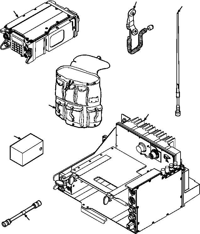 Figure 1. SINCGARS Family of Radios (AN/PRC-119F) (cont