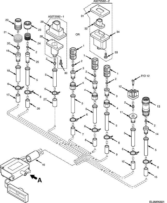 Figure 41. Branched Wiring Harness-Receiver-Transmitter