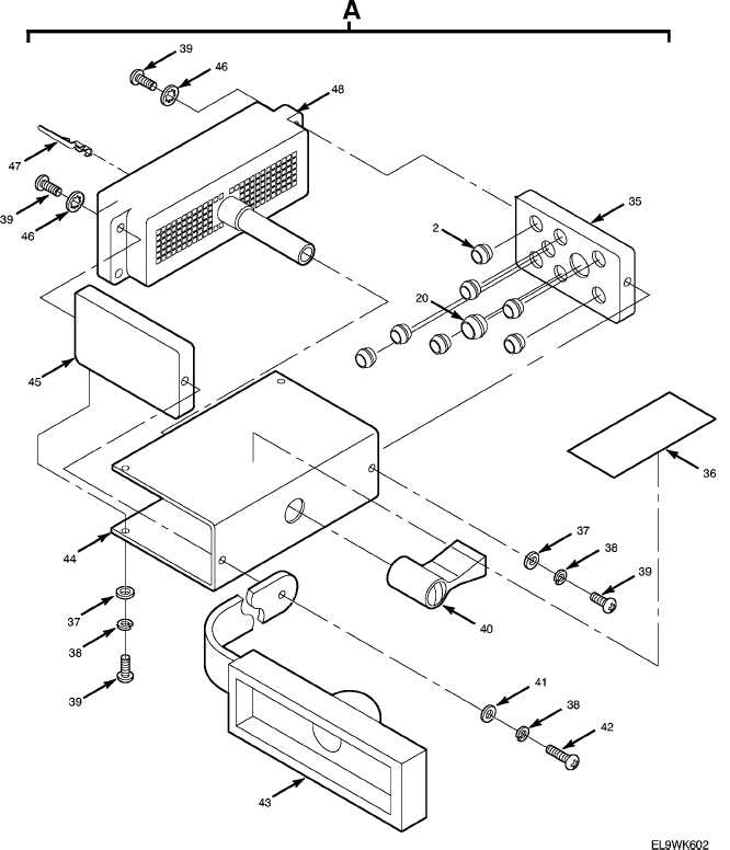 Figure 41. Branched Wiring Harness-Receiver-Transmitter (cont)