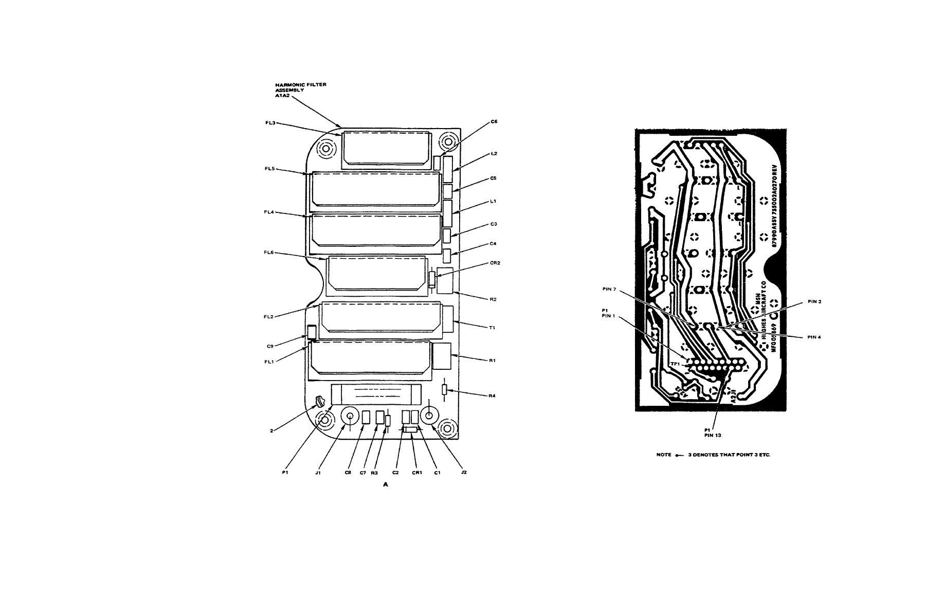 Figure 4 2 Harmonic Filter A1a2 Component Location