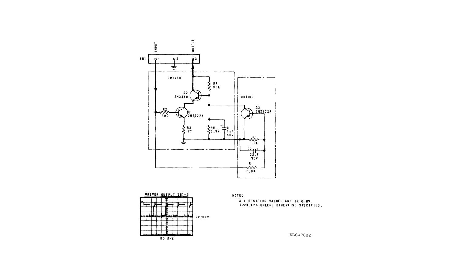 FO-6. Switched Regulator Driver A1A3, Schematic Diagram.