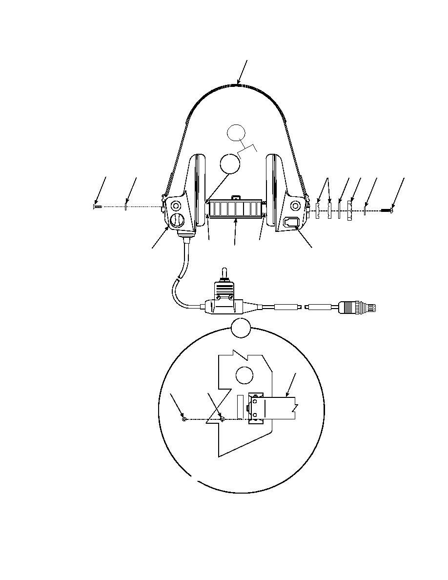Figure 12. Headset Electrical Assembly H-365/VRC (Sheet 1