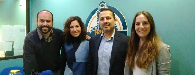 MARINA SÁNCHEZ DE GRUPO MOSÁN Y JOSÉ MARÍA ALFARO DE NUEVO MILENIO EN RADIO SOL