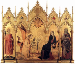 25 Simone Martini - l'Annunciazione