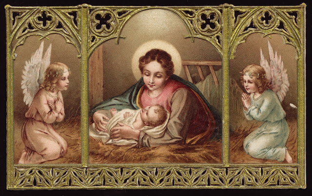 untitled Christmas holy card (Renato)