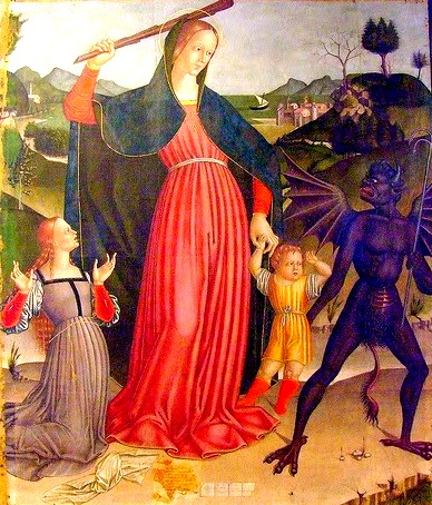 Blessed Virgin Mary - Exterminatrix of Heresy
