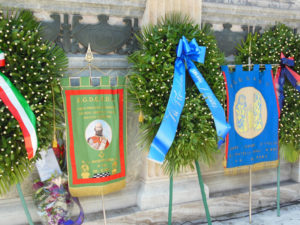 Commemorazione del Grande Oriente d'Italia per il 20 Settembre a Porta Pia