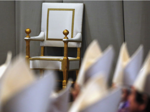 Africa-empty-papal-throne