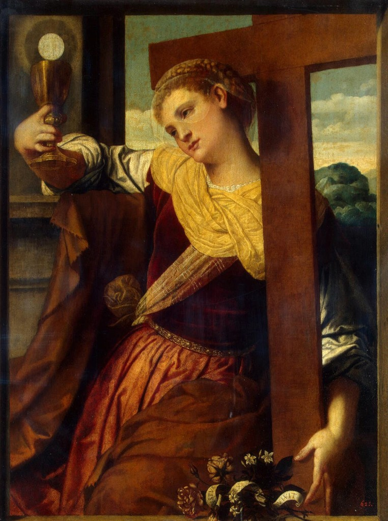 Moretto da Brescia (Alessandro Bonvicino) - Allegory of Faith