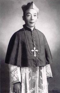 Il Vescovo Ignatius Kung Pin-Mei