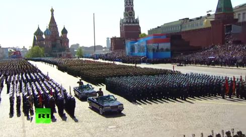 Парад Победы в Москве 2015 - Parata della vittoria a Mosca, video integrale